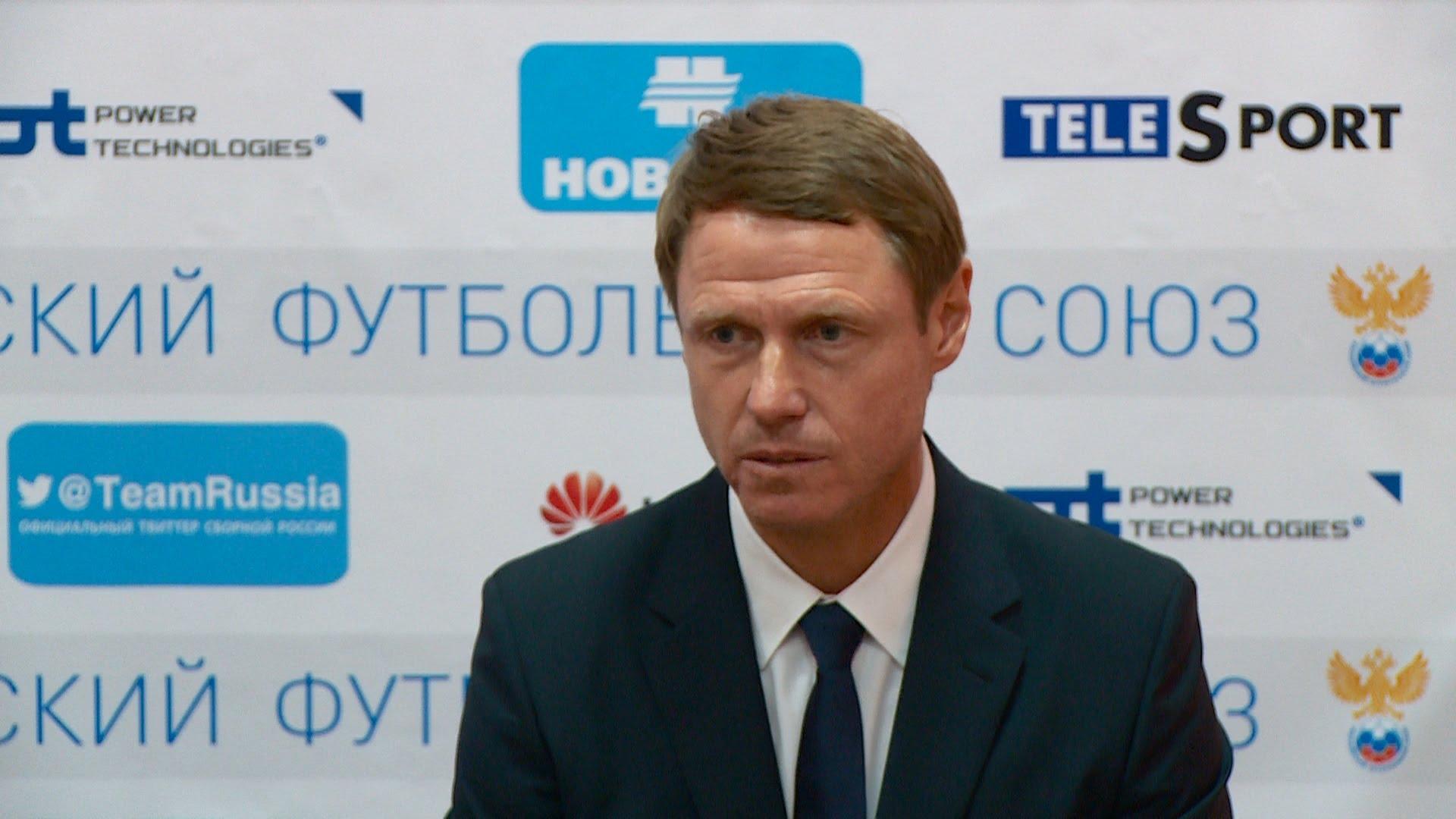 Послематчевая пресс-конференция с участием Олега Кононова и Игоря Чугайнова