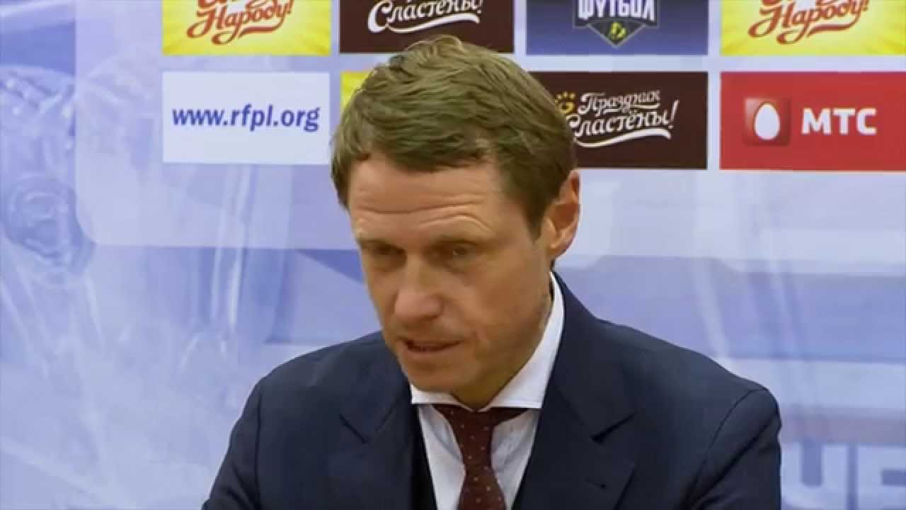 Послематчевая пресс-конференция Олега Кононова и Дмитрия Аленичева
