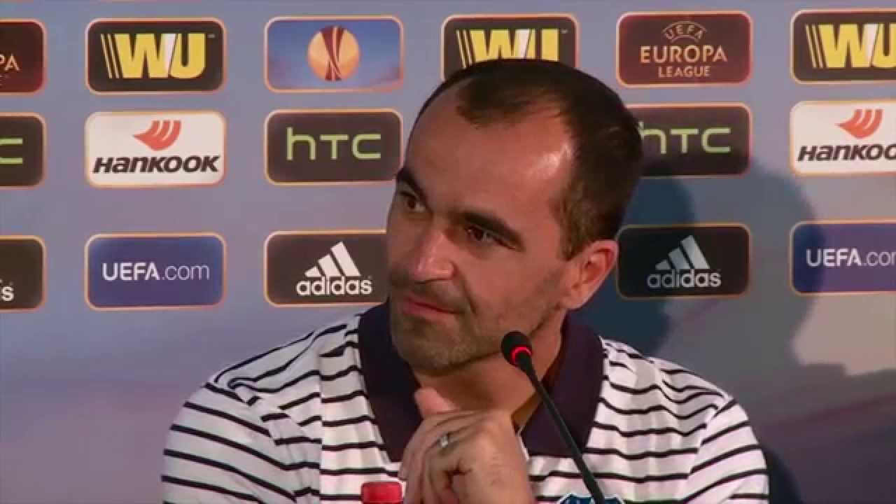 Пресс-конференция Роберто Мартинеса и Эйдена Макгиди («Эвертон») накануне матча с «Краснодаром»
