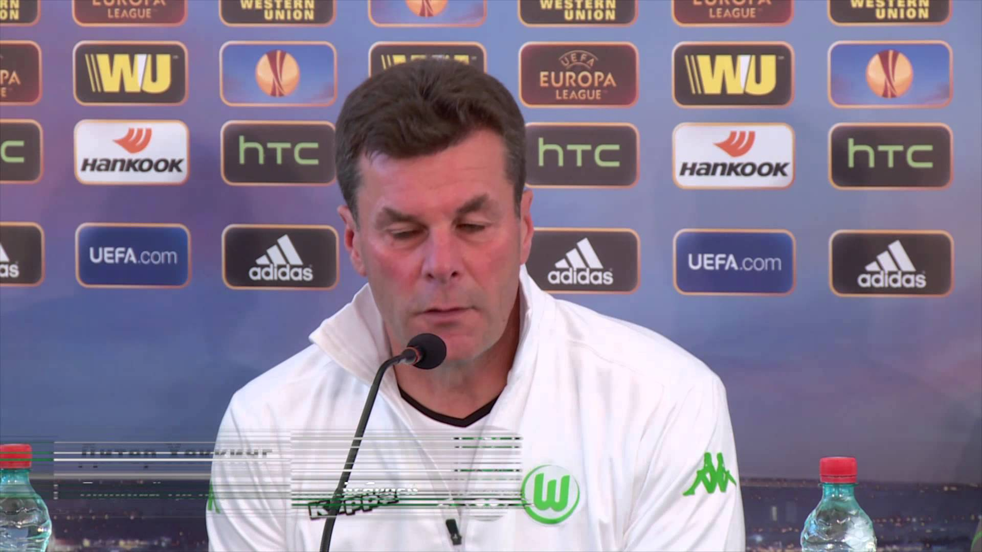 Пресс-конференция Дитера Хеккинга и Ивицы Олича («Вольфсбург») накануне матча с «Краснодаром»
