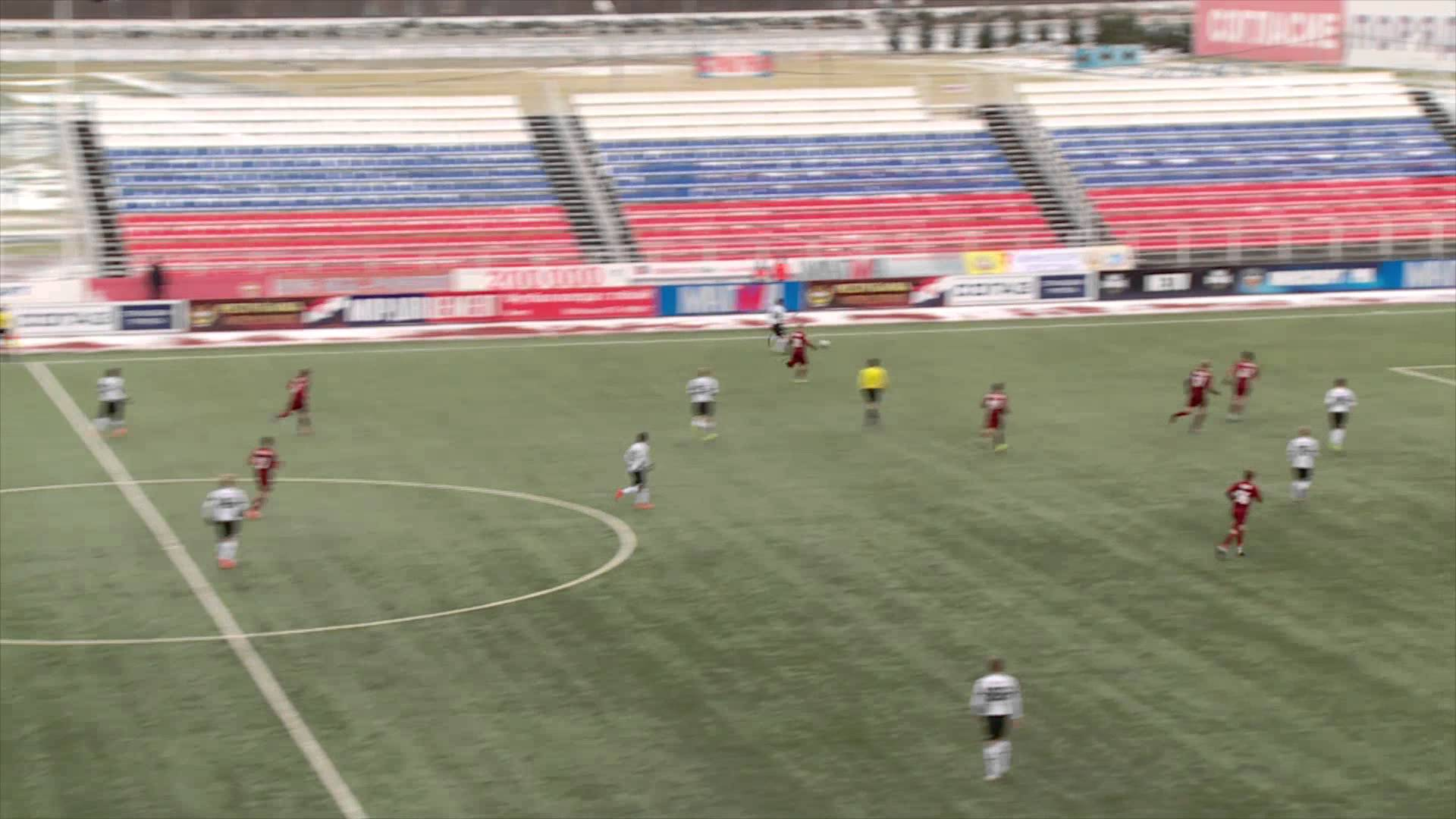 Видеообзор матча 12-го тура Молодежного Первенства «Мордовия-мол.» (Саранск) – «Краснодар-мол.»