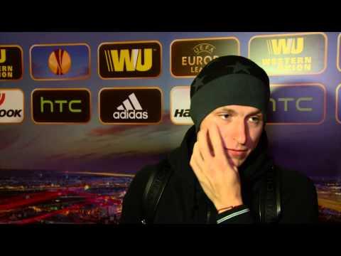 Флеш-интервью игроков «Краснодара» в смешанной зоне после матча с «Лиллем»