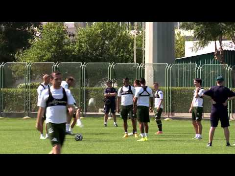 Седьмой тренировочный день «Краснодара» в ОАЭ