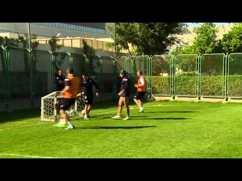 Девятый тренировочный день «Краснодара» в ОАЭ
