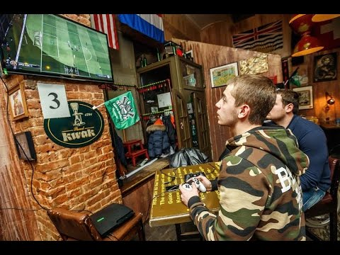Турнир по FIFA 15 в Mr.Drunke Bar