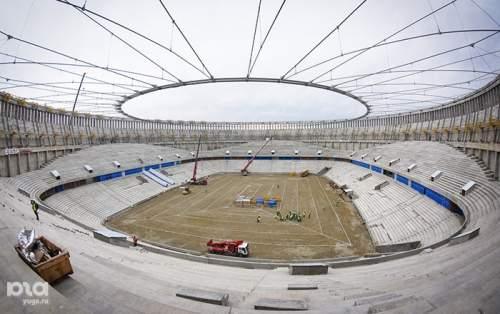 Как строят стадион ФК «Краснодар»