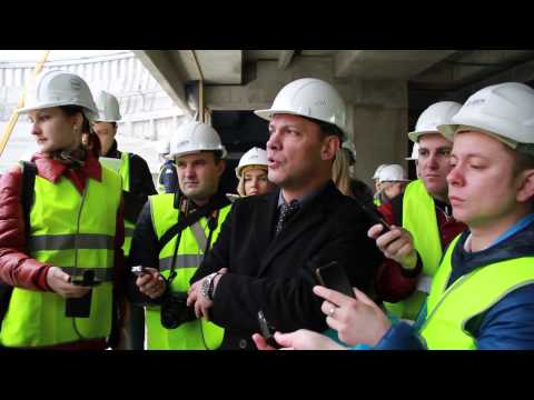 Пресс-тур на строящийся стадион ФК «Краснодар»
