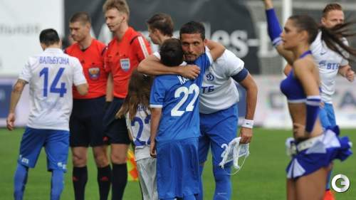 Бело-голубые слезы Кураньи: немец провел последний матч за«Динамо»